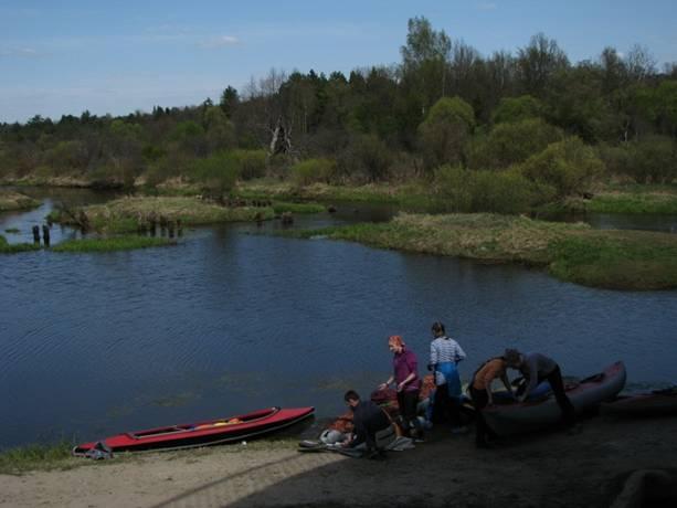 Отчет о водном туристическом походе I категории сложности по Калужской области