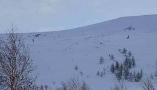 Отчет  О лыжном походе Н/К с эл. 3 к.с.,  Полярный Урал