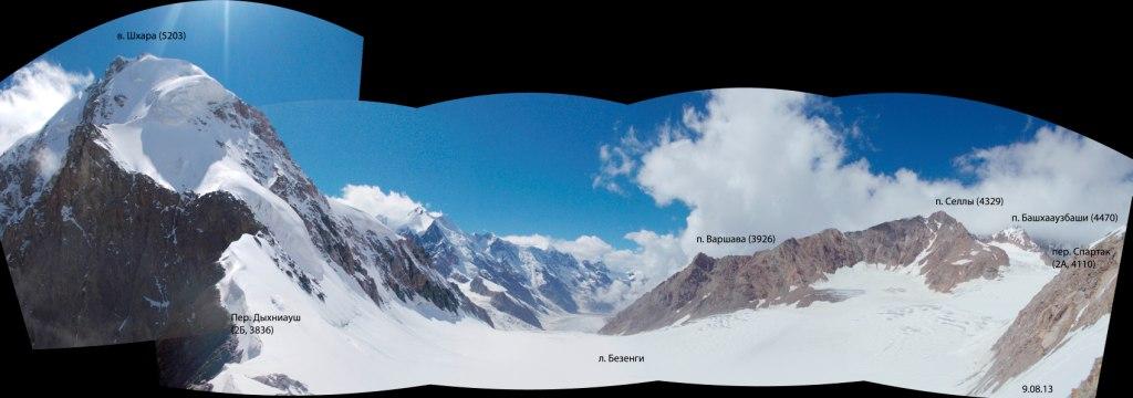 Панорама с перевала