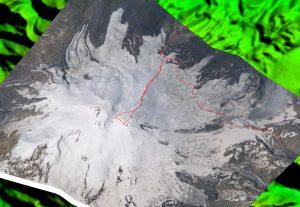 Снимок Эльбруса с МКС